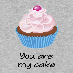 you are my cake - Men's V-Neck T-Shirt by Canvas