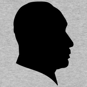 MLK SILHOUETTE MARTIN LUTHER KING JR. - Men's V-Neck T-Shirt by Canvas