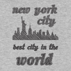 New york city is the best city in the world sIMPLE - Men's V-Neck T-Shirt by Canvas