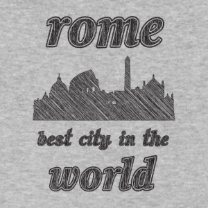 Rome Best city in the world - Men's V-Neck T-Shirt by Canvas