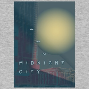 Midnight City - Men's V-Neck T-Shirt by Canvas