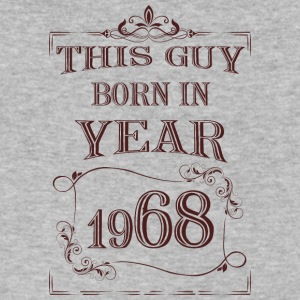 this guy born in year 1968 - Men's V-Neck T-Shirt by Canvas