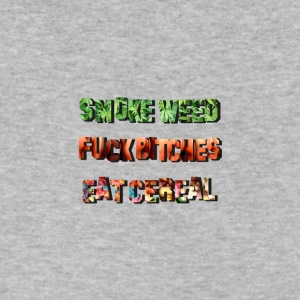 Smoke Fuck Eat - Men's V-Neck T-Shirt by Canvas