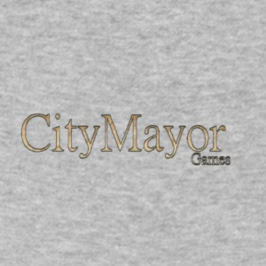CityMayor Games logo merchandise - Men's V-Neck T-Shirt by Canvas