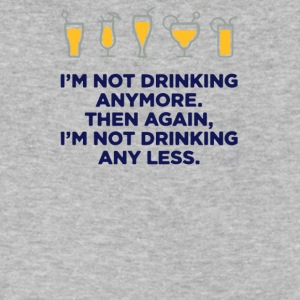 IM NOT DRINKING ANYMORE - Men's V-Neck T-Shirt by Canvas