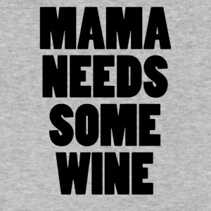 Mamma Needs Some Wine - Men's V-Neck T-Shirt by Canvas