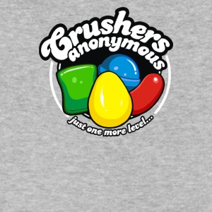 Just Crushers Anonymous Cuber System - Men's V-Neck T-Shirt by Canvas