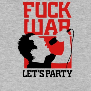 Fuck War - Men's V-Neck T-Shirt by Canvas