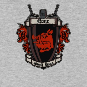 None shall pass - Men's V-Neck T-Shirt by Canvas