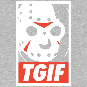 TGIF - Men's V-Neck T-Shirt by Canvas