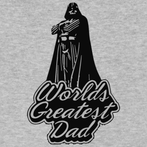 Worlds Greatest Dad - Men's V-Neck T-Shirt by Canvas