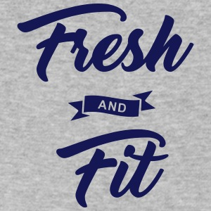 Fresh and Fit - Men's V-Neck T-Shirt by Canvas