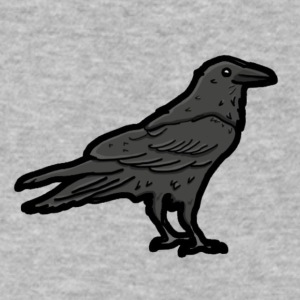 Raven's Nest Emblem - Men's V-Neck T-Shirt by Canvas