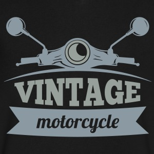 Vintage Motorcycle - Men's V-Neck T-Shirt by Canvas