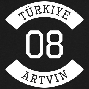 turkiye 08 - Men's V-Neck T-Shirt by Canvas