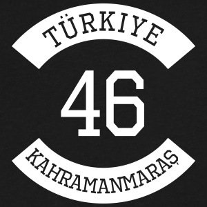 tuerkiye 46 - Men's V-Neck T-Shirt by Canvas