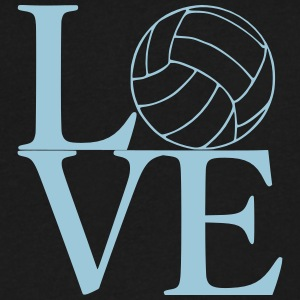Love Volleyball - Men's V-Neck T-Shirt by Canvas