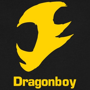 Dragonboy - Men's V-Neck T-Shirt by Canvas