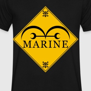 Marine - Men's V-Neck T-Shirt by Canvas