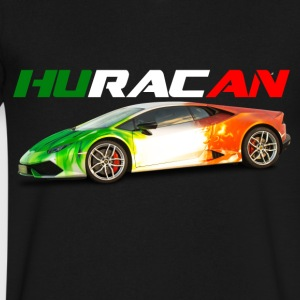Huracan - Men's V-Neck T-Shirt by Canvas