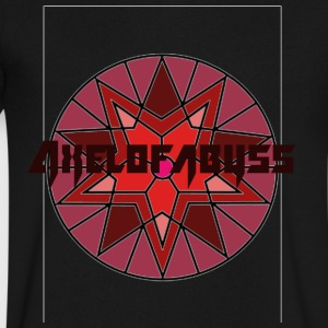 Axelofabyss shades of red - Men's V-Neck T-Shirt by Canvas