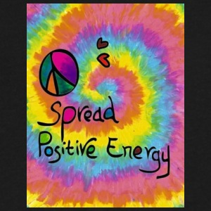 Spread Positive Energy - Men's V-Neck T-Shirt by Canvas