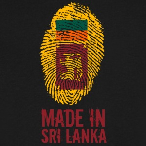 Made In Sri Lanka / ශ්‍රී ලංකා / இலங்கை / Ceylon - Men's V-Neck T-Shirt by Canvas
