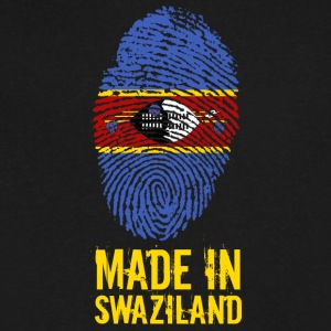 Made In Swaziland / eSwatini - Men's V-Neck T-Shirt by Canvas