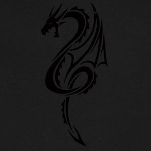 Dragon 3 - Men's V-Neck T-Shirt by Canvas