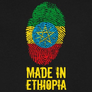 Made In Ethiopia / ኢትዮጵያ - Men's V-Neck T-Shirt by Canvas