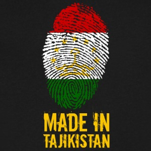 Made In Tajikistan / Тоҷикистон - Men's V-Neck T-Shirt by Canvas