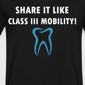 Dental share like it Class III Mobility - Men's V-Neck T-Shirt by Canvas