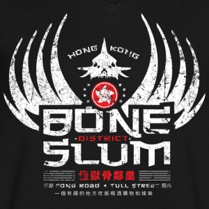 Bone Slum - Men's V-Neck T-Shirt by Canvas
