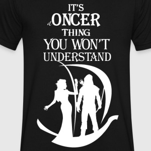 Oncer Thing! - Men's V-Neck T-Shirt by Canvas