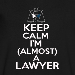 Almost A Lawyer - Men's V-Neck T-Shirt by Canvas