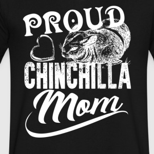Chinchilla Mom Shirt - Men's V-Neck T-Shirt by Canvas