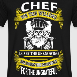 Chef we the willing - Men's V-Neck T-Shirt by Canvas