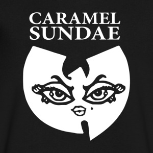 Caramel Sundae - Men's V-Neck T-Shirt by Canvas