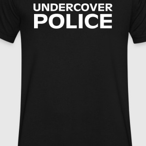 UNDERCOVER POLICE - Men's V-Neck T-Shirt by Canvas