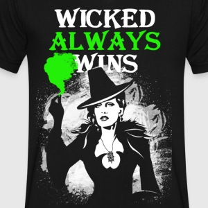 OUAT. Wicked Always Wins. Zelena. - Men's V-Neck T-Shirt by Canvas