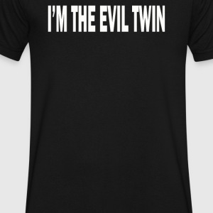 Twin IM THE EVIL - Men's V-Neck T-Shirt by Canvas