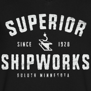 Superior Shipworks - Men's V-Neck T-Shirt by Canvas
