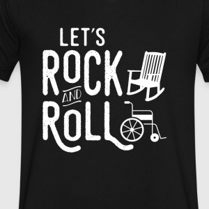 RockNRoll - Men's V-Neck T-Shirt by Canvas