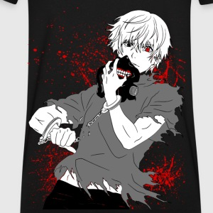 Tokyo Ghoul - Kaneki's Redemption (Black Version) - Men's V-Neck T-Shirt by Canvas