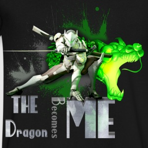 Overwatch: Genji - Men's V-Neck T-Shirt by Canvas