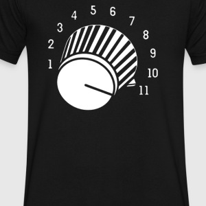 volume knob - Men's V-Neck T-Shirt by Canvas