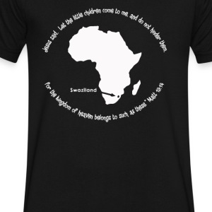 Sara s mission trip Swaziland - Men's V-Neck T-Shirt by Canvas