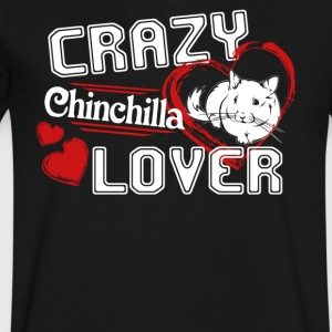 Chinchilla Lover Shirt - Men's V-Neck T-Shirt by Canvas