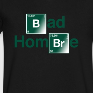 Bad Hombre Chemical T-Shirt - Men's V-Neck T-Shirt by Canvas