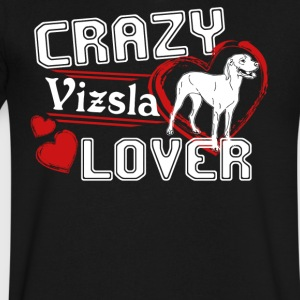 Vizsla Lover Shirt - Men's V-Neck T-Shirt by Canvas
